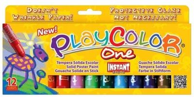 Farby w sztyfcie Playcolor 12 kolorów