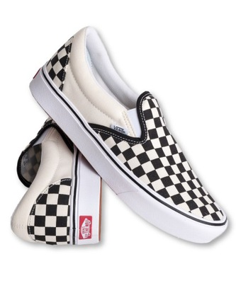 New Exclusive Vans Toddler Checkerboard Slip On Shoes Black