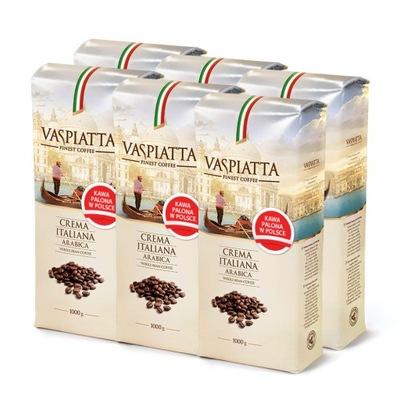 Zestaw 6kg Kawa Ziarnista Vaspiatta Crema Italiana