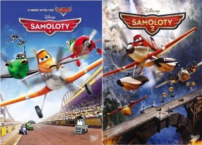 Dvd: SAMOLOTY 1 + 2 (2014) Disney - PAKIET