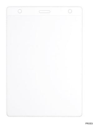 Identyfikator targowy 601325 (50) wew.110x147mm ze