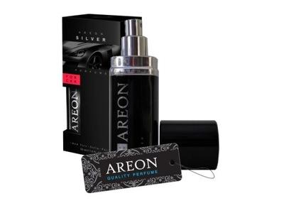 Areon Car New perfume 50ml Silver perfumy do auta