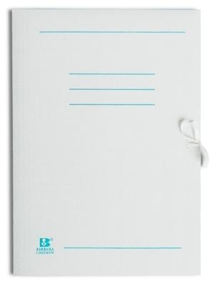 Teczka papierowa A4 wiązana biała NADRUK 50 sztuk