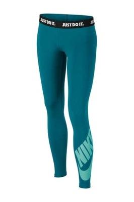 Legginsy Nike Girls NSW LEG LOGO 851984 467 116 XS