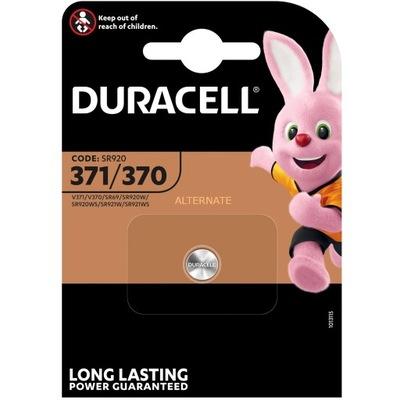 Bateria 371 Duracell SR920SW V371 370 AG6 L921