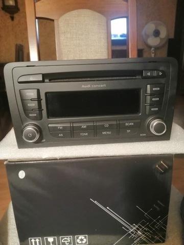 RADIO CONCERT AUDI A3 8P 2 DIN 8P0035186P