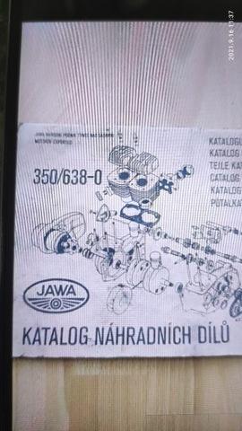 KATALOG ЗАПЧАСТИ ZAMIENNYCH JAWA 350
