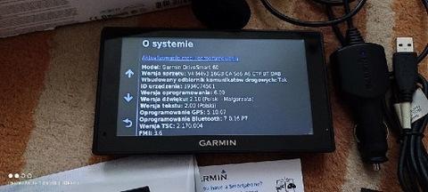 Garmin DriveSmart 60 LMT-D+mapy