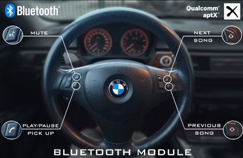 BMW АДАПТЕР BT, JEDYNY Z СЕРВИС КНОПОК