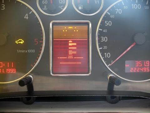 ЗАМЕНА LCD FIS AUDI A3 A4 A6 TT  + ДИСПЛЕЙ