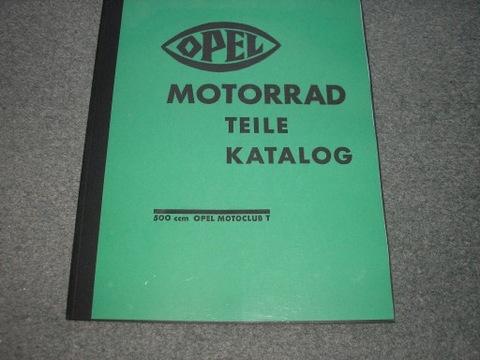 OPEL-Motoclub T 500ccm.