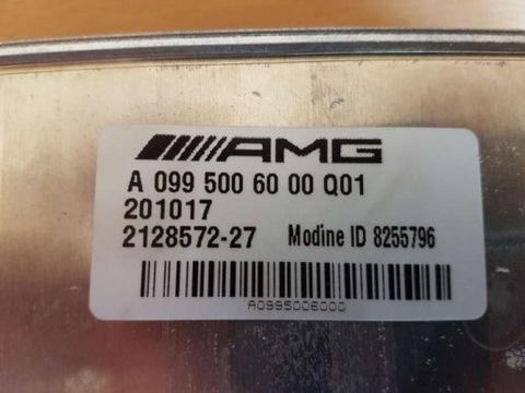 Радиатор масла коробки передач Mercedes