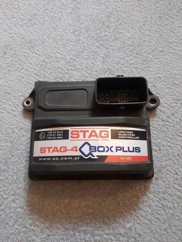 AC STAG-4 Q-BOX PLUS komputer sterownik centrala
