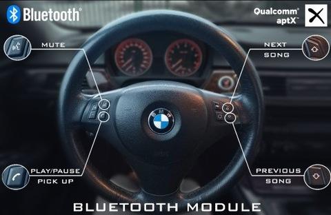 BMW ADAPTADOR BT, JEDYNY Z SERVICIO BOTONES