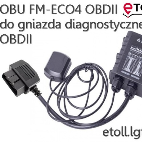 ETOLL OBU FM-ECO4 PARA ENCAJES OBDII
