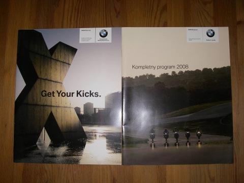 2 prospekty motocykli BMW