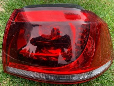 VW GOLF 6 VI FARO PARTE TRASERA DERECHA DIODO LUMINOSO LED ORIGINAL