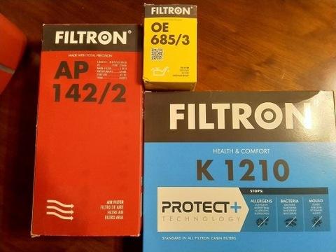 JUEGO DE FILTROS 3SZT. FILTRON TOYOTA YARIS P13 1.3