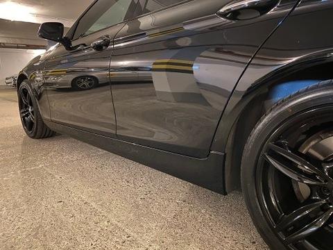 Крышка накладки на дверные пороги пороги BMW F10 SCHWARZ 2 668