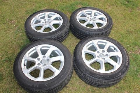 Оригинальные колесные диски Audi Q2 шины Michelin