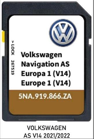 Volkswagen Navigation AS V14 5NA919866ZA Discover