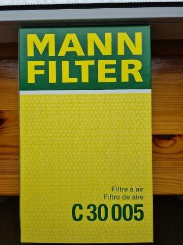 FILTRO AIRE MANN FILTER C30005 MANN-FILTER