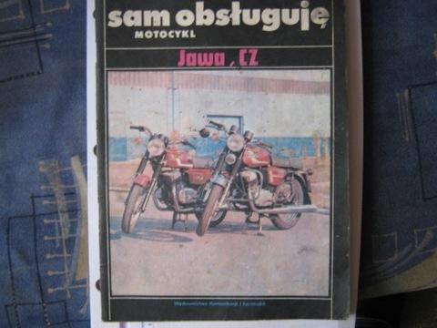 SAM OBSLUGUJE МОТОЦИКЛ JAWA, CZ 1985R - ОРИГИНАЛ