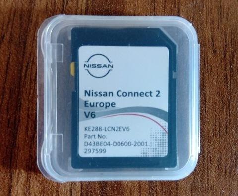 КАРТА SD Z КАРТА 2021 К NISSAN CONNECT 2