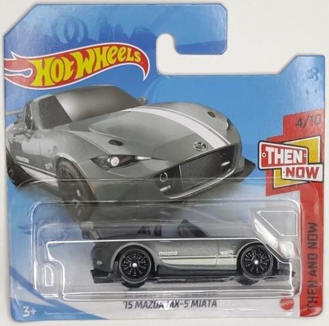 Hot wheels 15 mazda MX-5 Miata ThenandNow 4/10 JDM