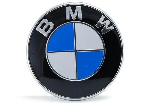 INSIGNIA EMBLEMA LOGOTIPO BMW AL CAPO O TAPA DE MALETERO 82MM