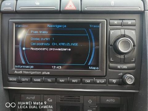 Radio-Nawigacja RNS-E Audi A4 B6/B7