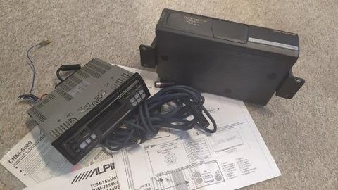 РАДИО ALPINE 7554R I COMPACT DISC S620 НА 6 ДИСКОВ