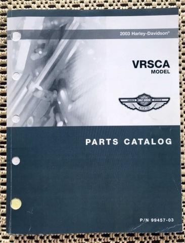 Harley Davidson 2003 VRSCA Parts Catalog/Katalog