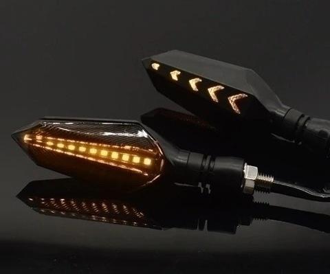 ДИНАМИЧЕСКИЕ PŁYWAJĄCE ПОВОРОТНИКИ LED (СВЕТОДИОД ) 2 ШТУКИ