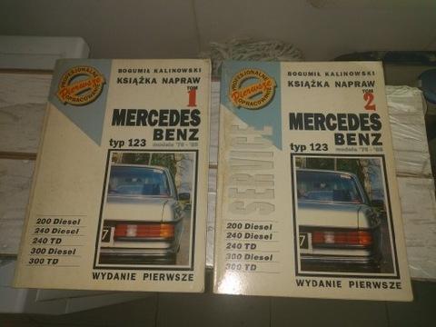 Książki Mercedes W123
