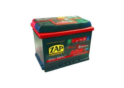 AKUMULATOR батарея 60Ah 680A зап АГМ старт-стоп Катовице