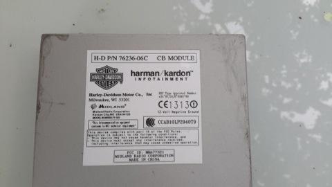 Harley moduł cb Harman Kardon
