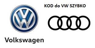 ROZKODOWANIE РАДИО VW ZDALNIE КОД ДЛЯ РАДИО -SZYBKO