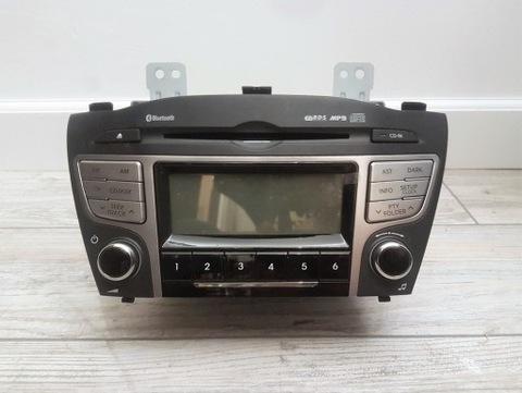 RADIO CD MP3 BLUETOOTH ОРИГИНАЛ HYUNDAI IX35 NOWE