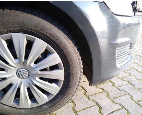 VW GOLF VII КОЛЕСА - ШИНЫ YOKOHAMA ДИСКИ КОЛПАКИ VW