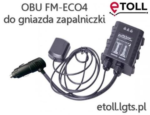 E-TOLL OBU FM-ECO4 PARA ENCAJES ENCENDEDOR