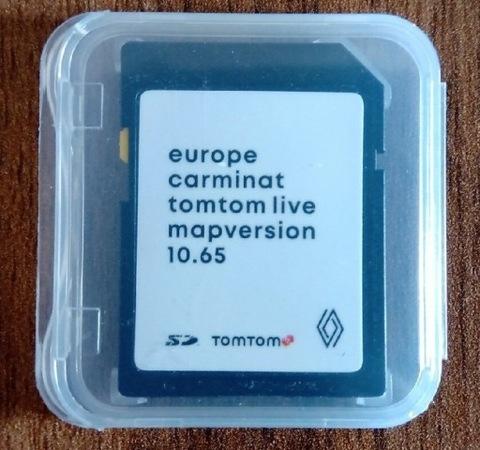 MAPAS RENAULT CARMINAT LIVE 1065 EUROPA