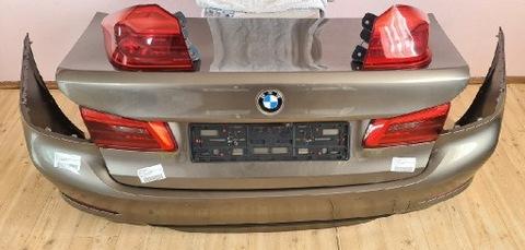 BMW 5 G30 ЗАД КРЫШКА БАМПЕР ФОНАРИ КАМЕРА LUXURY