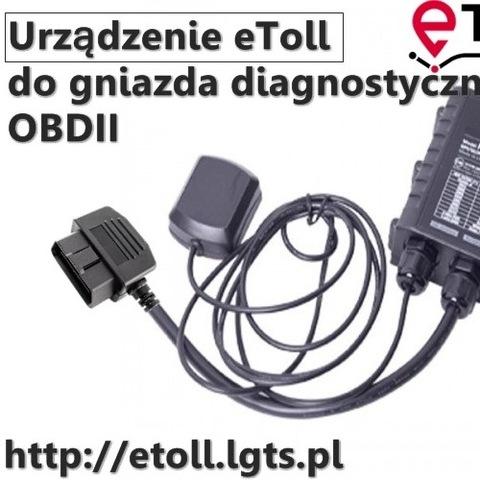 ETOLL OBU FM-ECO4 ДЛЯ ГНЕЗДА OBDII