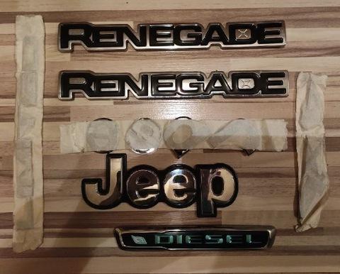 Jeep Renegade 2.0 MJTD 140 km Emblematy/loga