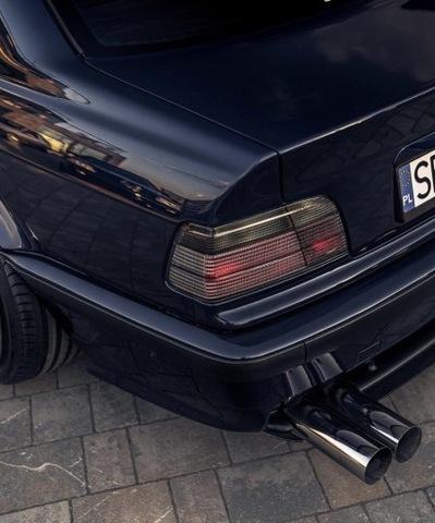 FAROS BMW E36 CUPÉ PARTE TRASERA DYMIONE SMOKED LIMPIO