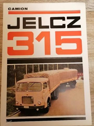 JELCZ 315 - CAMION [1968]  AUTO DE CARGA