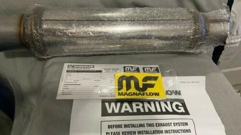 MagnaFlow глушители 2 шт ,тип спортивный SS 14419