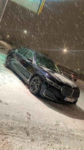 БАМПЕР ПЕРЕДНИЙ TYŁ BMW 7 G12 LCI LIFT 2020 ПОРОГИ