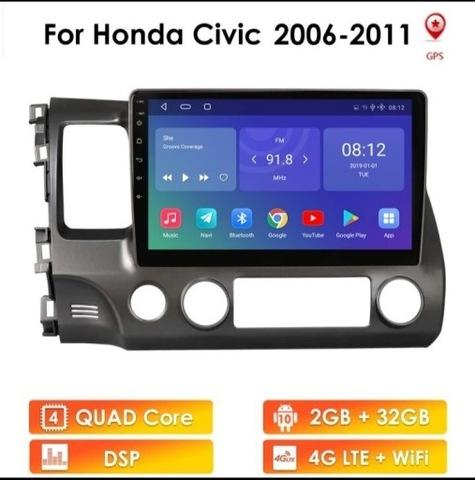 РАДИО ANDROID 2 GB RAM HONDA CIVIC СЕДАН 2006+